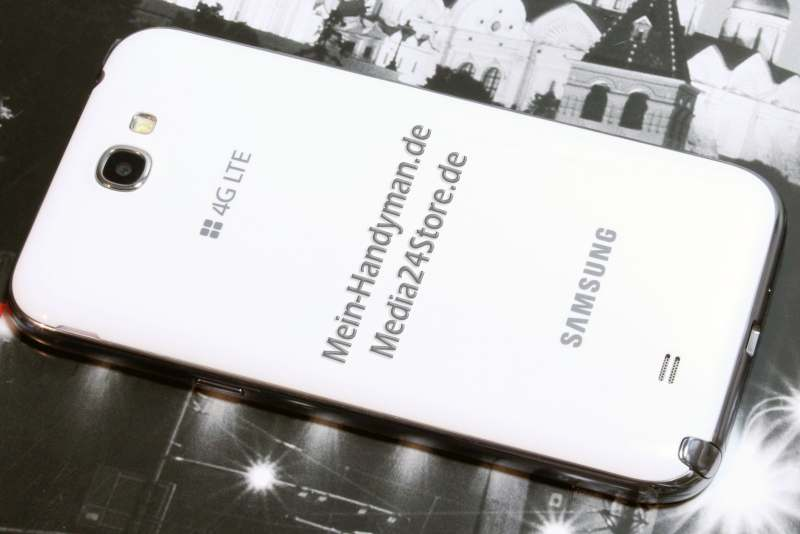 Samsung Note 2 N7100 fertig back